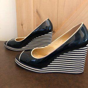 Michael Kors Wedge Open Toe Shoes